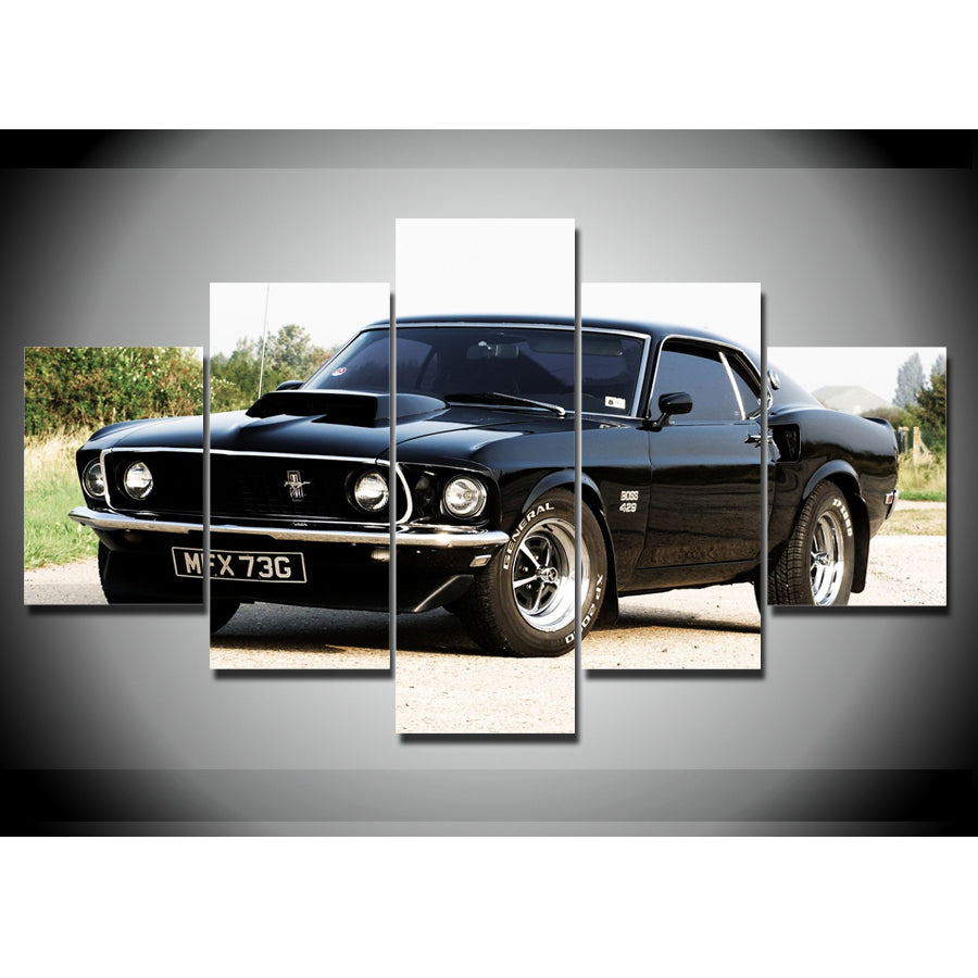 MUSCLE CAR CANVAS ART USA – cozymoderndecor