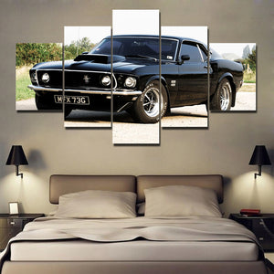MUSCLE CAR CANVAS ART USA