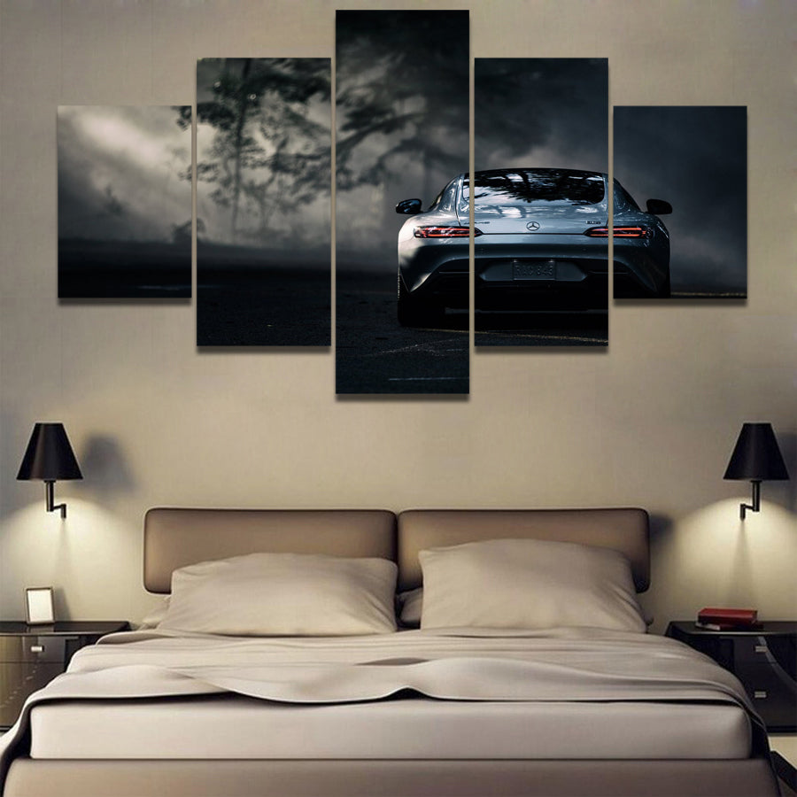 MERCEDES CAR ART