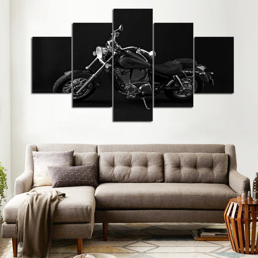 MOTORCYCLE CANVAS ART