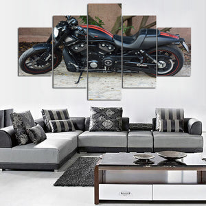 HARLEY-DAVIDSON CANVAS ART