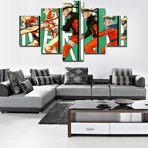 NARUTO'S GROWTH CANVAS ART