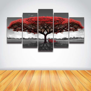 TREE CANVAS ART