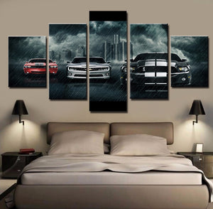 AMERICAN MUSCLE CANVAS ART