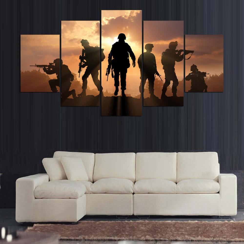 SOLDIERS CANVAS ART