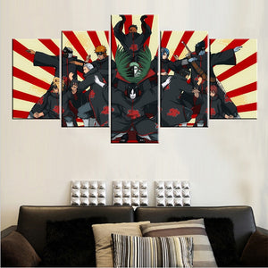 AKATSUKI FORMATION CANVAS ART