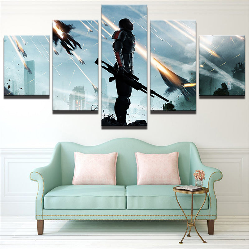SOLDIER CANVAS ART