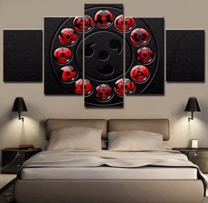SHARINGAN CANVAS ART