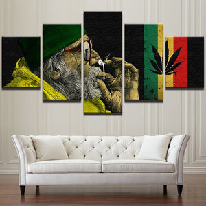 RASTA CANVAS ART