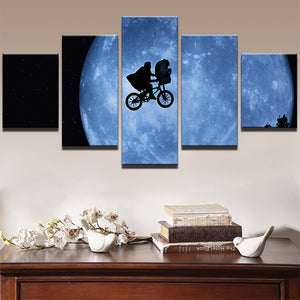 MOON CANVAS ART