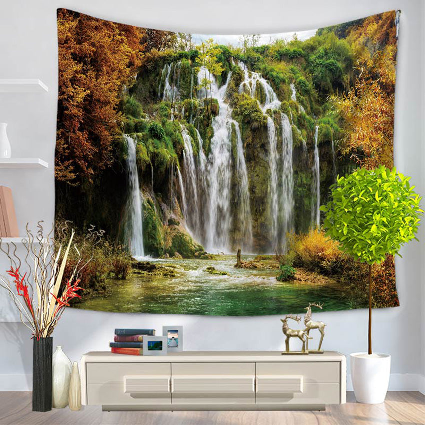 NATURE SCENERY TAPESTRY