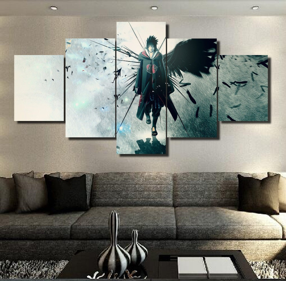 AKATSUKI SASUKE CANVAS ART