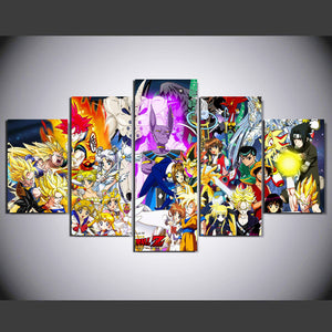 ANIME LOVERS CANVAS ART