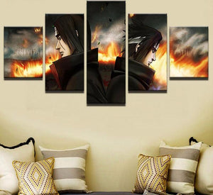 ITACHI & SASUKE CANVAS ART