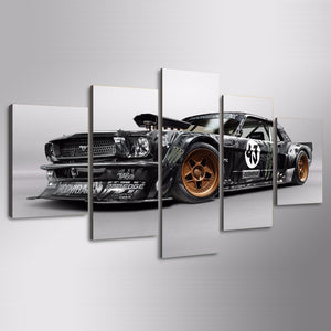 MODDED MUSTANG CANVAS ART