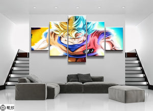 DRAGON BALL Z CANAS ART