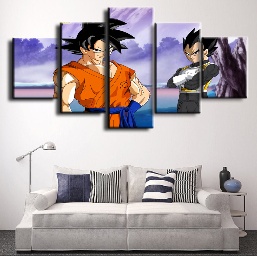 DRAGON BALL Z CANVAS ART