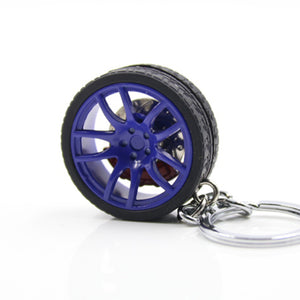 WHEELS KEYCHAIN