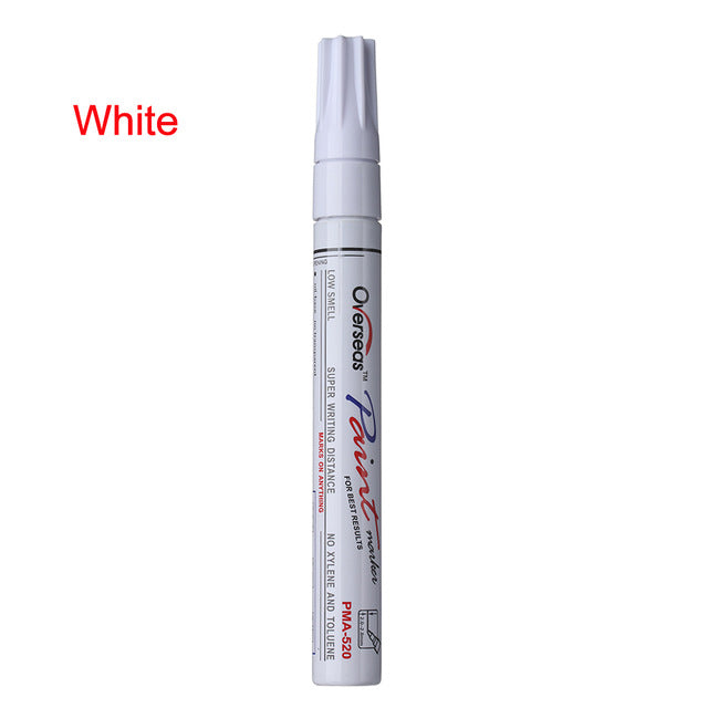 CAR TIRE PERMANENT PEN 7 COLORS