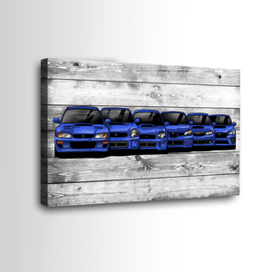SUBIE GENERATION WALL ART