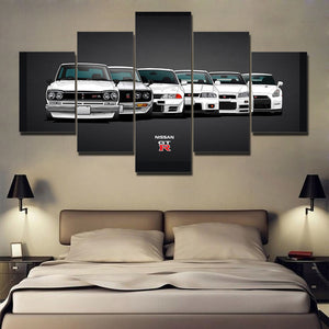 6 GENERATION JDM CANVAS ART