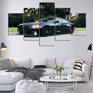 DODGE CANVAS ART