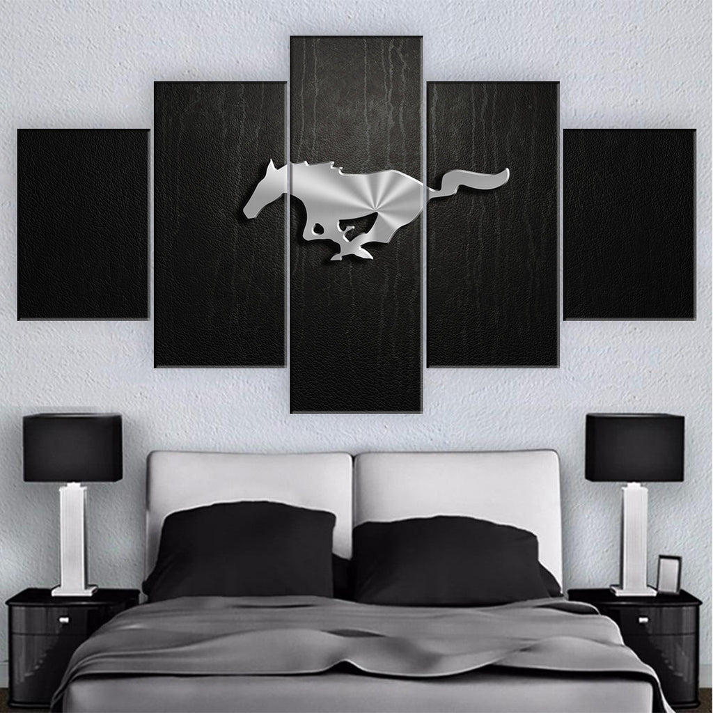 MUSTANG CAR WALL ART