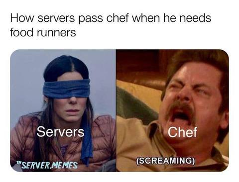 Only a True Chef/Line Cook Will Understand These 18 Memes