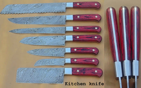 Image of Kitchen Chef Knife Set 1