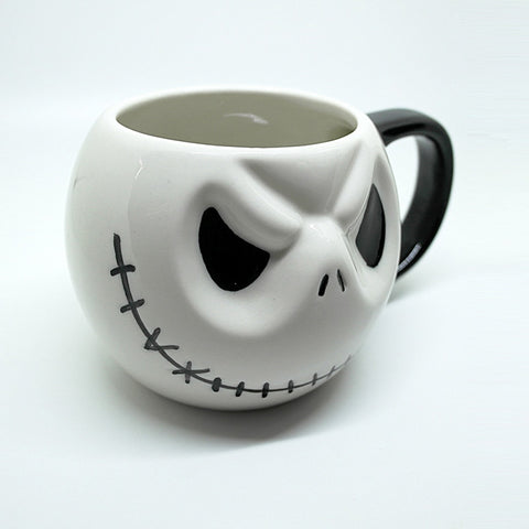 "Image of 500mL Jack Skellington Mug,""The Nightmare Before Christmas"""