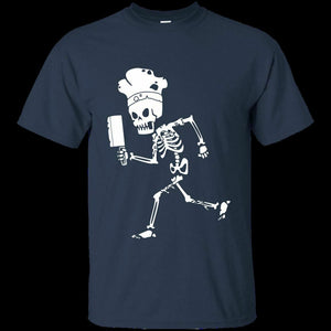Chef Skeleton T Shirt Halloween