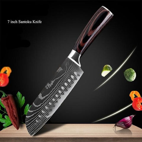 Black Edition Japanese Chef Knives - from £14.97 + FREE Worldwide Delivery
