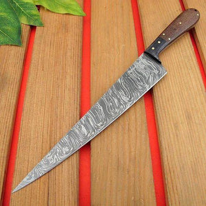12'' Damascus Steel with Micrata handle