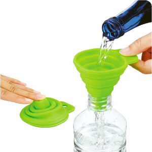 Mini Silicone Gel Collapsible Funnel