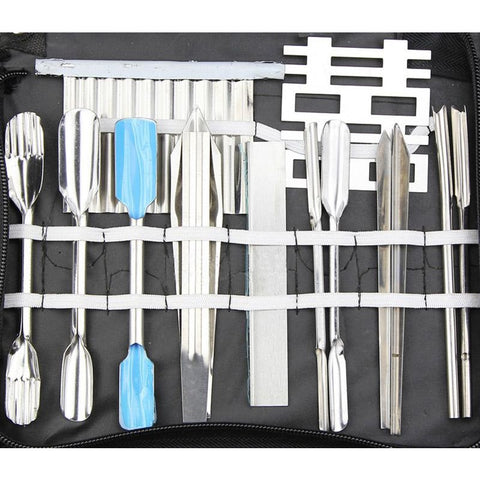 46Pcs Portable Vegetable Fruit Food Carving Chef Kit