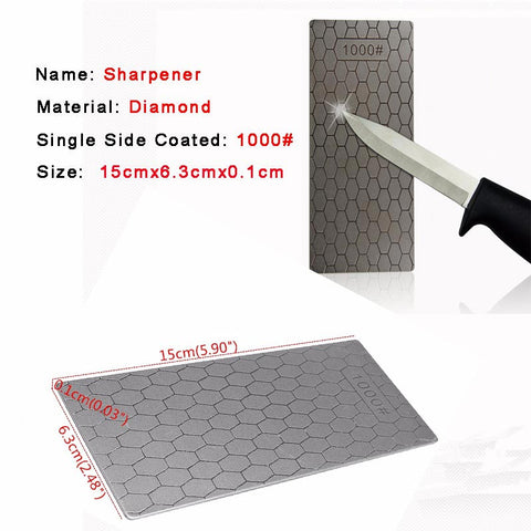 Image of Diamond Knife Sharpening Grinding Stone Whetstone Grit  - Professional