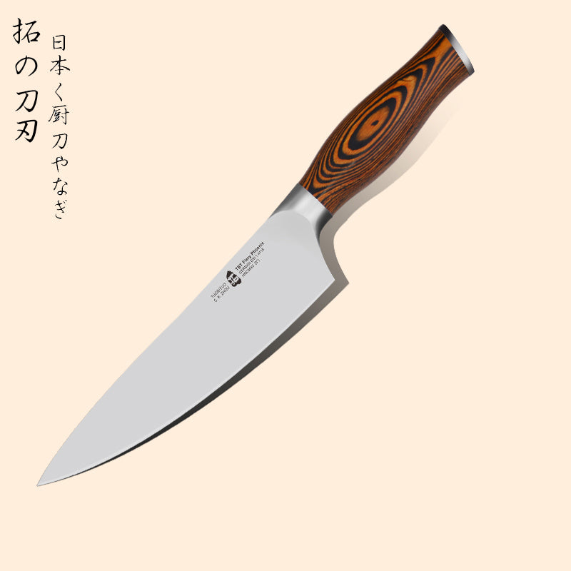 "8"" Chefs knife Japanese style With German X50 steel"