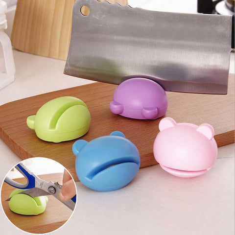 Image of Cute Mini Multi-function Knife Sharpener