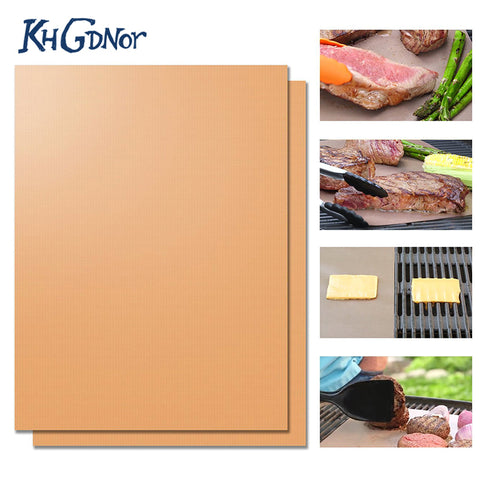 Image of Heat Resistant BBQ Grill Mat