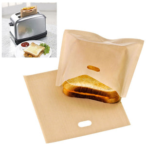 5 Reusable Toaster Bags