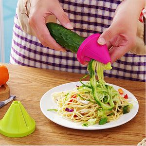 Vegetable Shred/Spiral/Slicer Device