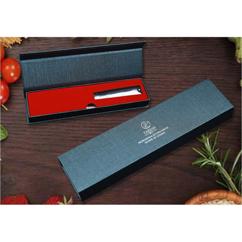 "Image of Japanese VG10 Santoku Knife Damascus Steel 5"" blade  - Gift Boxed"