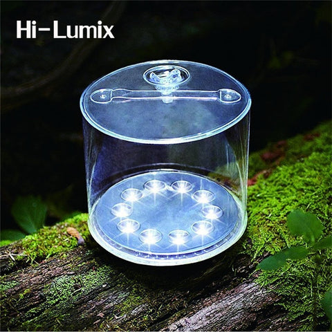 Inflatable Solar Light