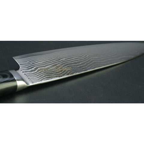 "Image of 8"" Chef Knife Japanese Kitchen Knife Damascus VG10 67 Layer Stainless Steel - Micarta Handle"