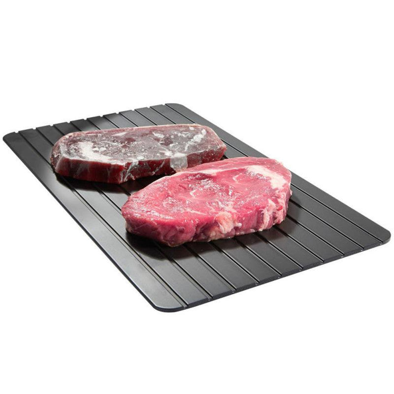 Fast Defrosting Meat Tray chopping board Rapid Safety Thawing Tray For Frozen Food Meat Kitchen knives and accessories 2018