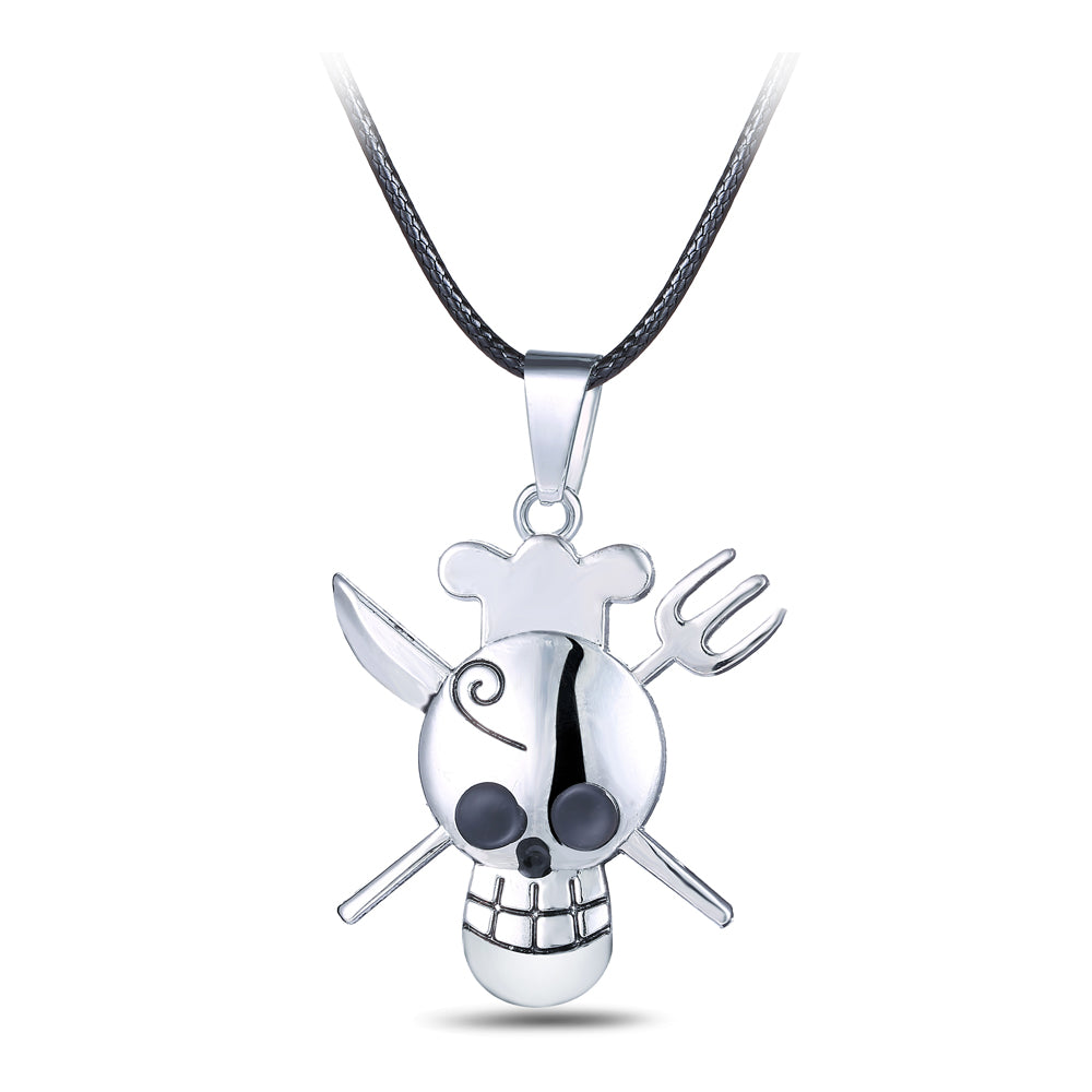 Chef Skull and Cross Bone Pendant - £6.97 + FREE Delivery