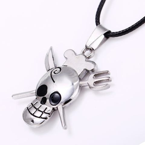 Image of Chef Skull and Cross Bone Pendant - £6.97 + FREE Delivery
