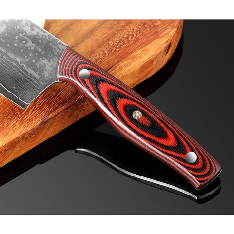 Image of 67 Layer VG10 Damascus Steel Kitchen Knife Set