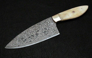 10 Inch Custom Handmade Damascus Chef Knife