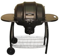 The Meg-a-Que grill is a bigger version of the original Keg-a-Que
